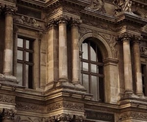 aesthetic, architecture, and brown image