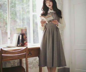 50s, blouse, and book image