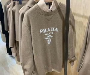 luxury, Prada, and beige image