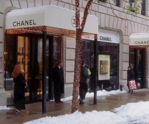 gossip girl, chanel, and winter image