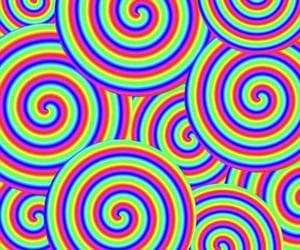 rainbows, rainbowcore, and cybergoth image