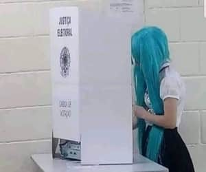 anime, vote, and brasil image