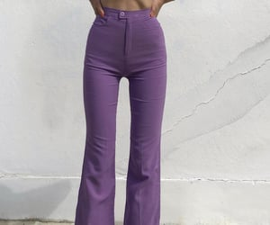 fashion, lilac, and style image