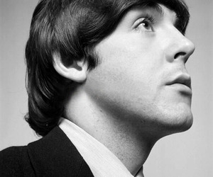beautiful, black and white, and Paul McCartney image