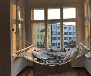 aesthetic, cozy, and hammock image