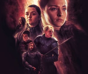 a song of ice and fire, arya stark, and game of thrones got image