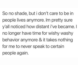 i don't care and no shade image