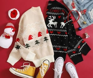 autumn, christmas, and clothes image