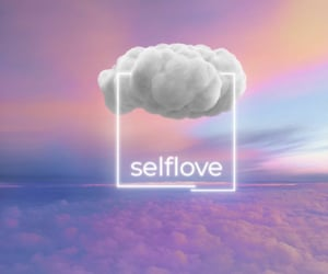 clouds, holographic, and lifestyle image