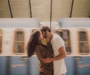kiss, boy, and couple image