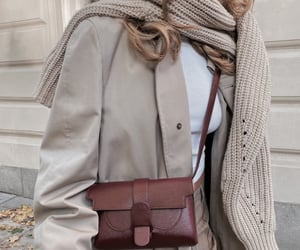 accessories, autumn, and beige image