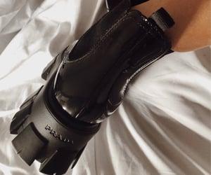 designer, footwear, and Prada image
