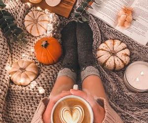autumn, home, and relax image
