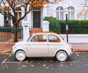 car and autumn image