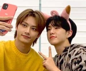 jun, junhui, and hoshi image