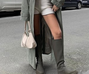 street style, knee high boots, and everyday look image