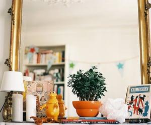 decor, mirror, and vintage image
