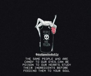 fake, poison, and quote image