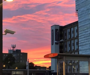 aesthetics, sunset sunrise, and almighty god image