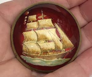 etsy, christmas holiday, and vintage brooch pin image