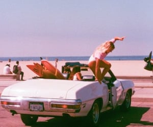vintage, aesthetic, and beach image