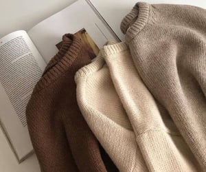 book, aesthetic, and sweater image