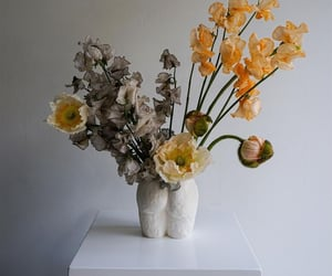 art, favourite, and flowers image