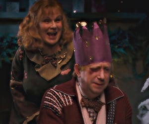 harry potter, arthur weasley, and molly weasley image