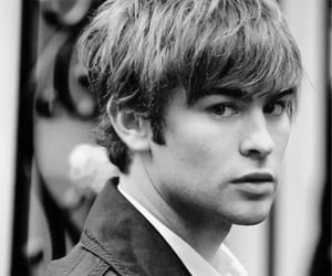 black and white, bw, and Chace Crawford image