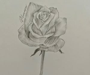 art, sketch, and love art image