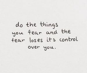 control, fear, and inspiration image