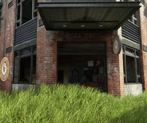 abandoned, door, and last of us image