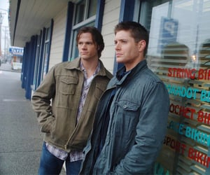 dean winchester, sam winchester, and jared padalecki image