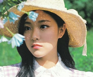 hyunjin, loona, and cottagecore image