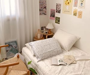 apartment, simple, and bedroom image