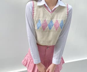 korean fashion, pastel, and 90s fashion image