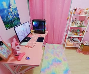 bedroom, deco, and gamer image