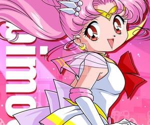 sailor chibi moon, 美少女戦士セーラームーン スーパーズ, and sailor moon supers image