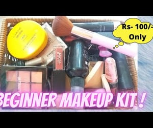 makeup, makeup products, and affordable image