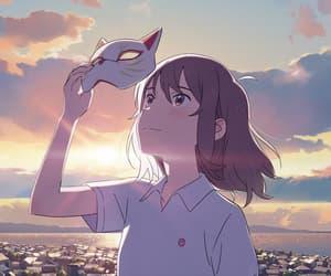 anime, miyo sasaki, and wallpaper image