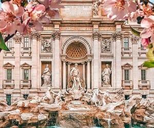 history, fontana di trevi, and italy image