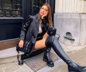boots, chic, and classy image