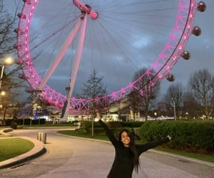 london eye and Londres image