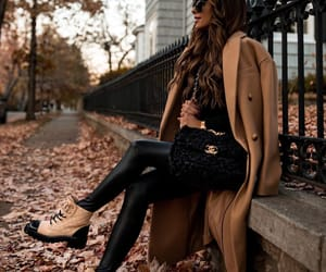blogger, chanel boots, and look image