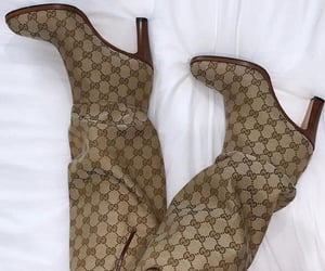 boots, gucci, and monogram image