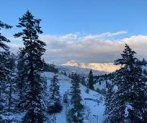 british columbia, snow, and winter image