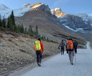 Alberta, british columbia, and mountaineering image