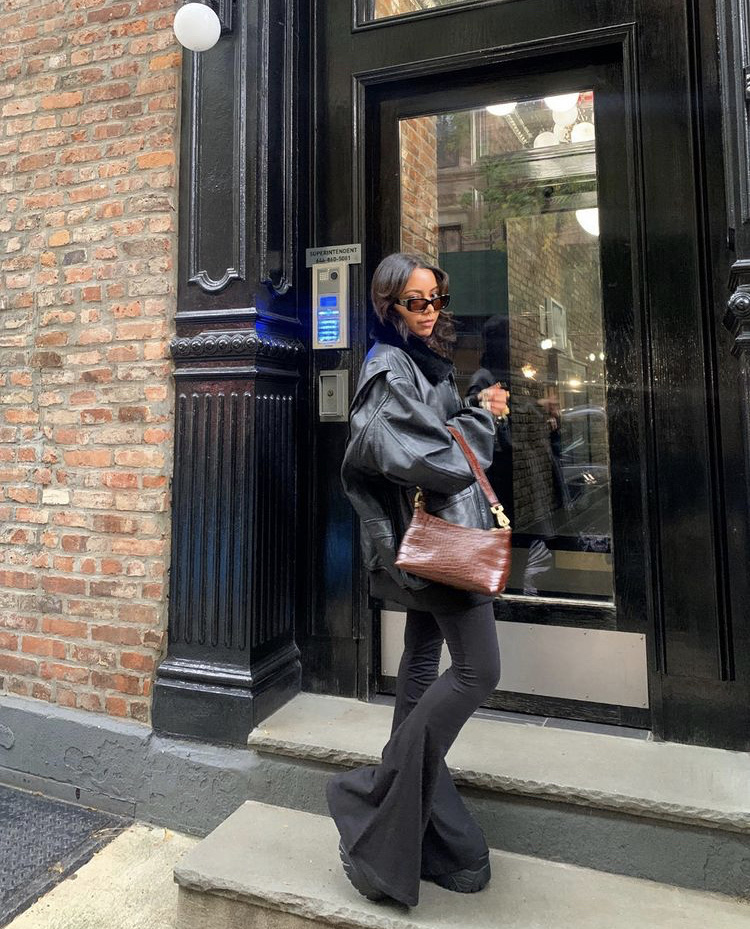 black shoes, street style, and everyday look image