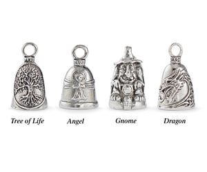 bells, tree of life, and charms image
