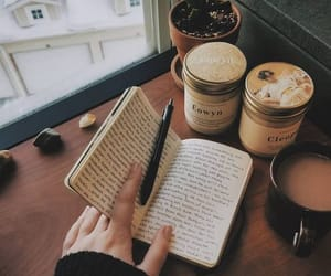 coffee and journal image